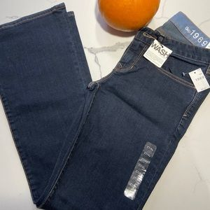 NWT Size 4A Curvy Low Rise 1969 Jeans from Gap